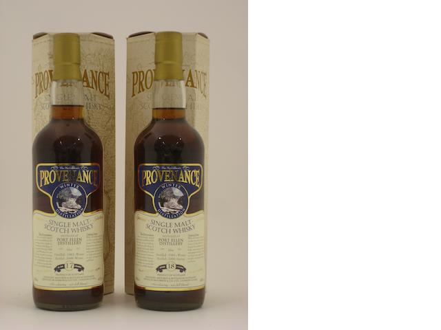Port Ellen-17 year old-1982<BR /> Port Ellen-18 year old-1981