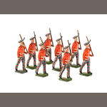 Britains set 1395, King's Own Scottish Borderers 8