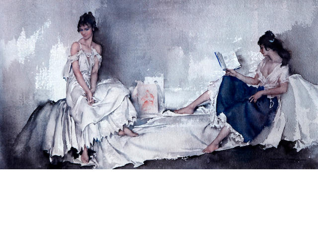 Sir William Russell Flint R.A., P.R.W.S. (British, 1880-1969) 'Act II Scene I'