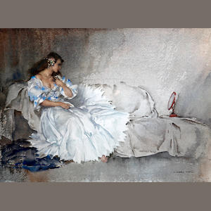Sir William Russell Flint R.A., P.R.W.S. (British, 1880-1969) 'Studio Accessories'