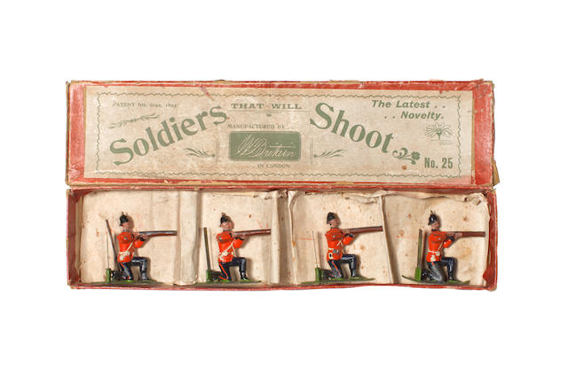 RARE Britains set 25, Soldiers that will Shoot' 4