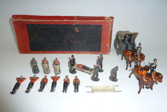 Britains set 145, Royal Army Medical Corps Ambulance Wagon 23