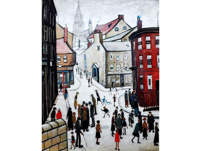 Laurence Stephen Lowry R.A. (British, 1887-1976) 'Berwick-Upon-Tweed'