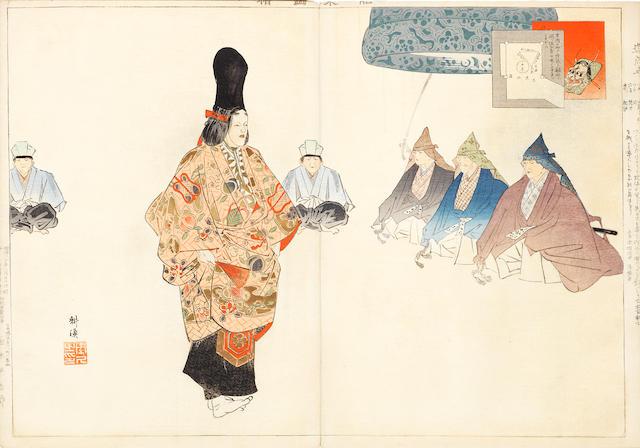 Tsukioka Kogyo (1869-1927) Dated 1897
