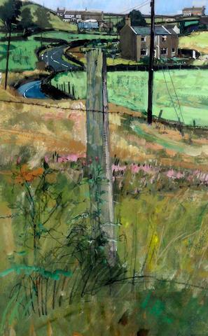 Trevor Stubley (British, 1932-2010) 'Bank from New Gate'