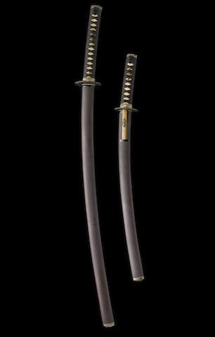 A shin-shinto daisho Edo Period