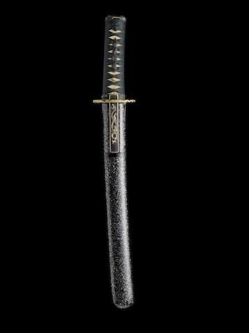 A shin-shinto tanto By Ohara Nagatoshi, dated Keio 2 (1866)
