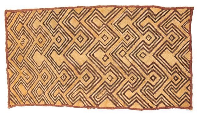 A group of Zaire textiles Central Africa 19th or 20th Century