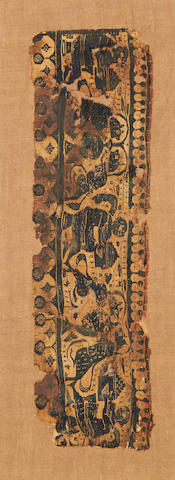A group of Coptic textiles Egypt 4th or 5th century(4)