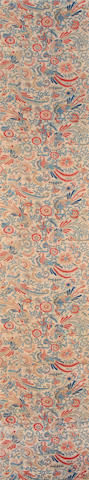 A group of printed cotton textiles India and Sri Lanka, 19th Century(5)