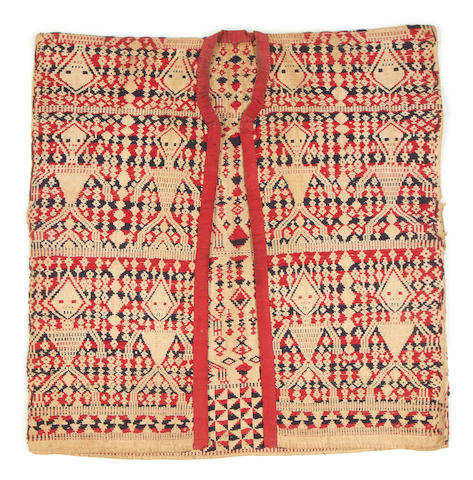 A group of textiles Cambodia, Philippines, and Indonesia  19th/20th Century(5)
