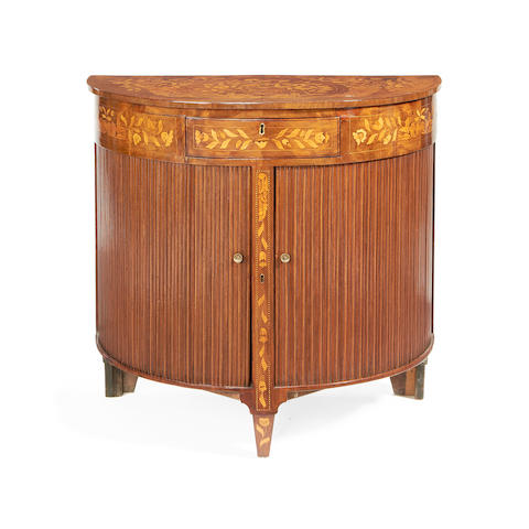 Dutch marquetry commode