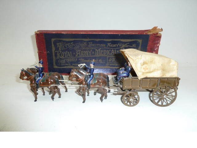 Britains set 145, Royal Army Medical Corps Horsedrawn Ambulance 7