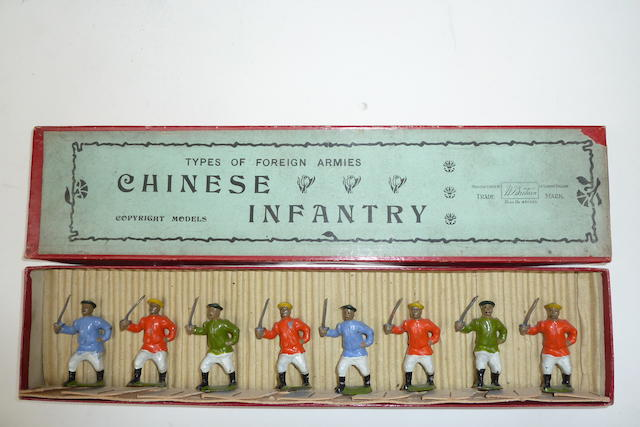 Britains set 241, Chinese Infantry 8