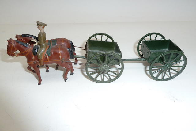 Britains set 1331, Royal Engineers Limbered Wagon, Service Dress 4