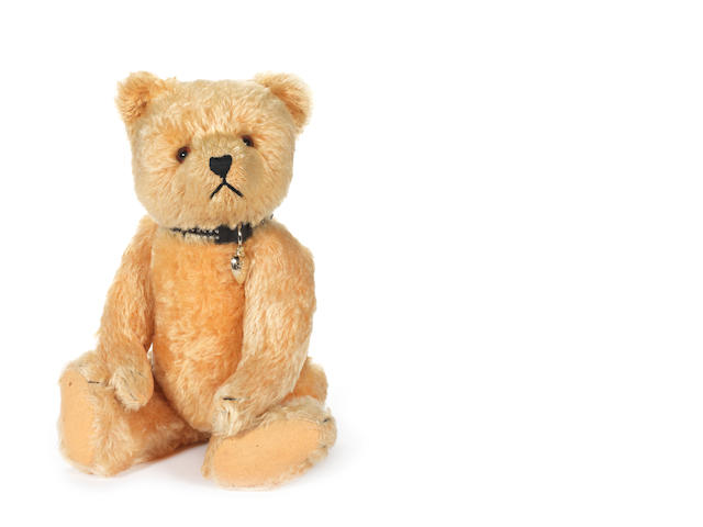 Golden mohair Teddy bear