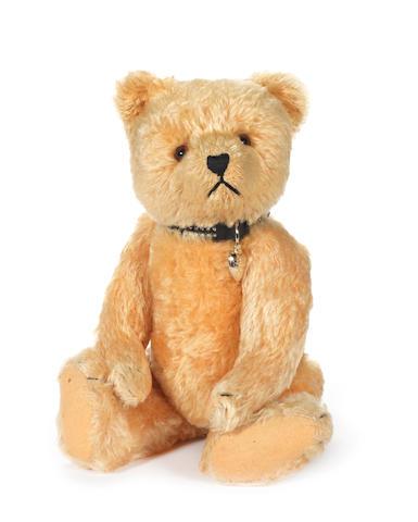 Golden mohair Teddy bear