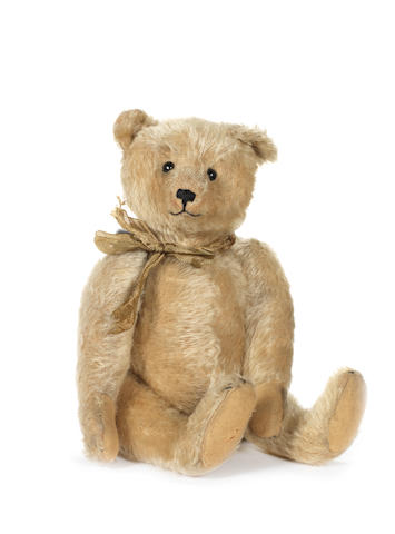 Wilhelm Strunz Teddy bear, circa 1909