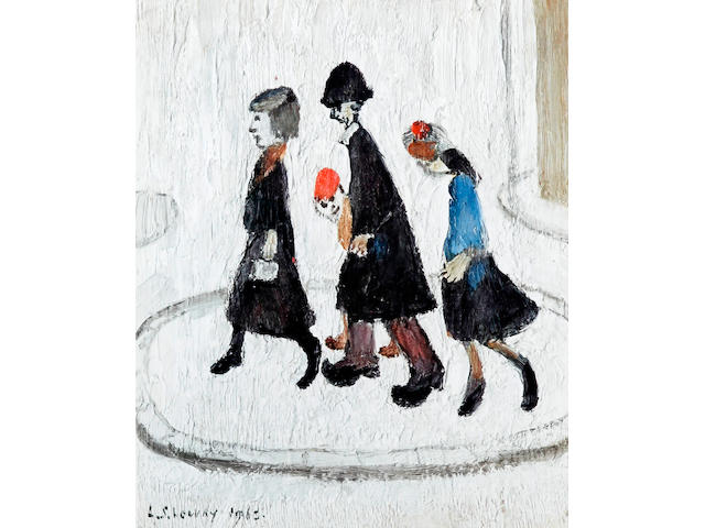 Laurence Stephen Lowry R.A. (British, 1887-1976) 'The Family'