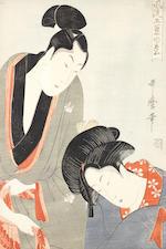 Kitagawa Utamaro (1753-1806) Late 18th century