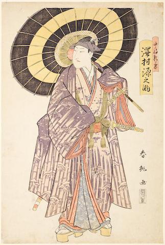 Utagawa Toyokuni (1769-1825), Ando Hiroshige (1797-1858), Shunko (fl.circa 1789-1818) and others Late 18th/19th century