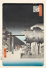 Utagawa Toyokuni (1769-1825), Ando Hiroshige (1797-1858), Shunko (fl.circa 1789-1818) and others Late 18th/19th century