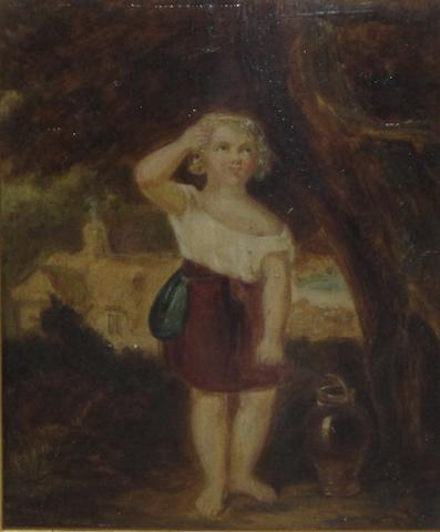 James Walton Burnett (British) Cuddie Headrigg's child, from Scotts old mortality