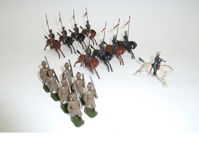 RARE Britains Indian Army from set 64