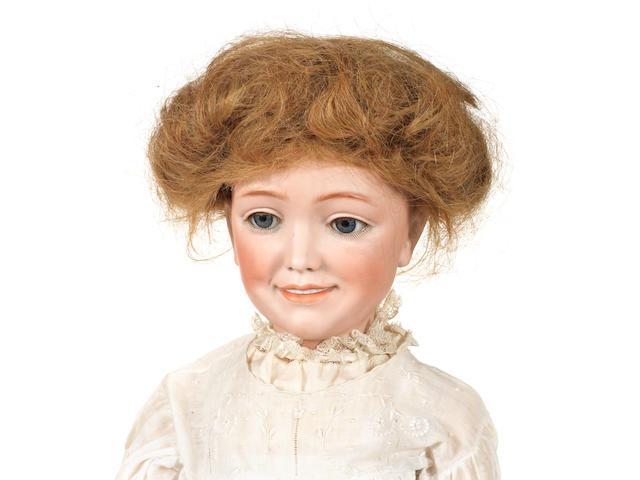 Rare Simon & Halbig 1388 bisque head character doll