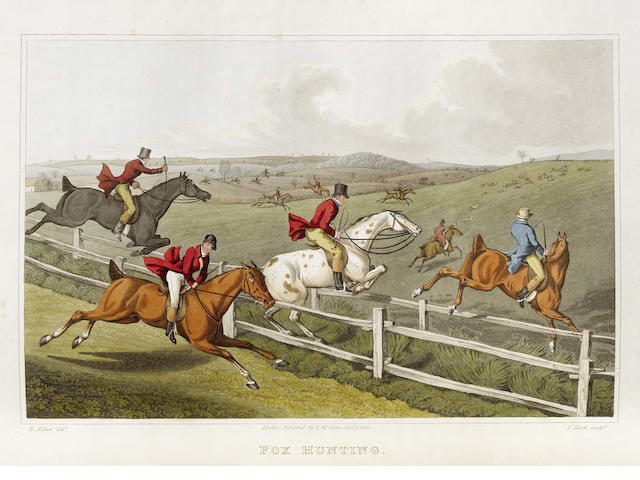 ALKEN (HENRY) The National Sports of Great Britain... with Descriptions in English and French, FIRST EDITION, 1823