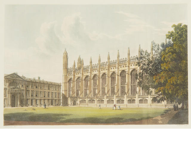 ACKERMANN (RUDOLPH) A History of the University of Cambridge, its Colleges, Halls, and Public Buildings, 2 vol., 1815