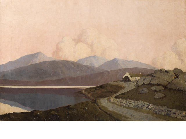 Paul Henry R.H.A. (Irish, 1876-1958) A scene near achill sound 40 x 60.8cm. (15 5/6 x 23 5/6in.)