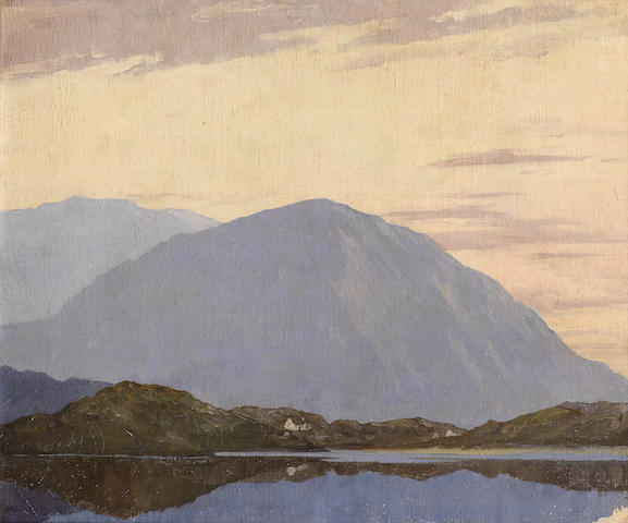 Paul Henry R.H.A. (Irish, 1876-1958) Dugort Bay, Achill Island 38 x 45.7 cm. (15 x 18 in.)