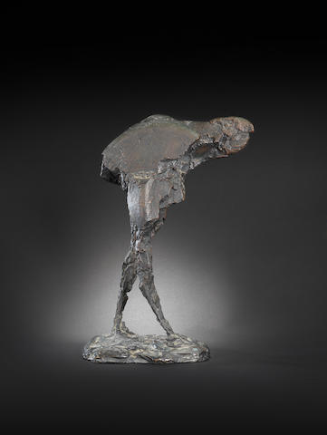 Dame Elisabeth Frink R.A. (British, 1930-1993) Harbinger Bird III 43.8 cm. (17 1/4 in.) high (including base)
