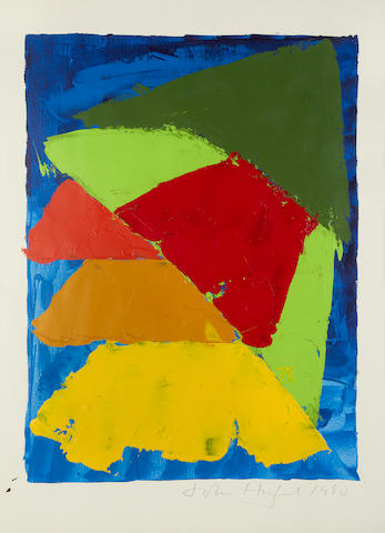 John Hoyland RA (British, 1934-2011) Untitled (sheet)