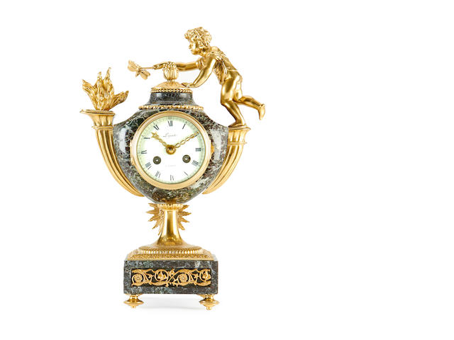 A French 19th century clock Lepaute