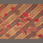 Three cotton batik textiles Indonesia 19th/20th Century(3)
