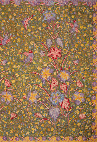 A group of cotton batik textiles Indonesia, 19th/20th Century(5)