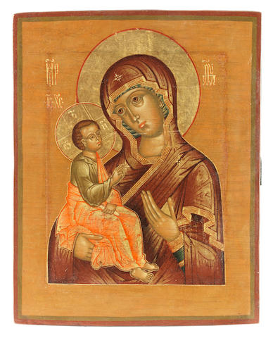 The Jerusalem Mother of God Russia, 19th century<BR />
