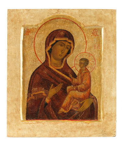 The Iverskaya Mother of God Russia, late 17th century<BR />