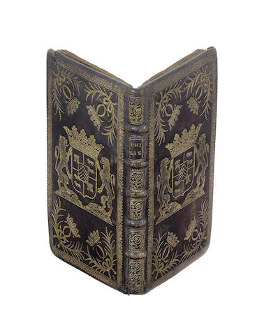 BOURSAULT (EDME) La metamorphose des yeux de Philis, changez en astres. Pastorale representée par la Troupe Royale, FIRST EDITION, contemporary binding, 1665