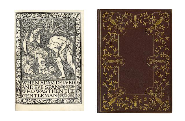 KELMSCOTT PRESS [Ancoats Brotherhood, 1894-5], 1895