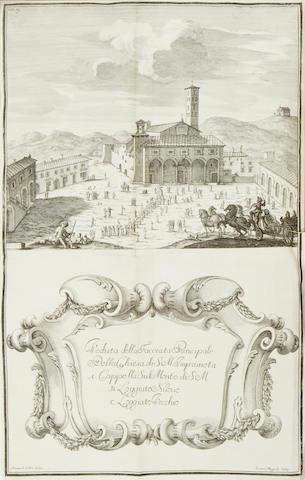 CASOTTI (GIOVAMBATISTA) Memorie istoriche della miracolosa immagine di Maria Vergine dell'impruneta, Florence, 1714