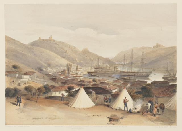 SIMPSON (WILLIAM) The Seat of War in the East. First Series (of 2), hand-coloured, 1855