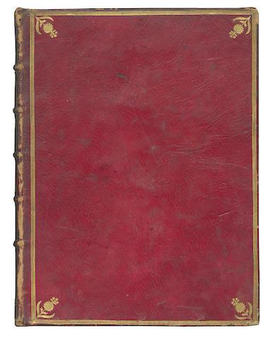 BREVIARY, Use of Montauban Breviarium montalbanense, 4 vol., 1784