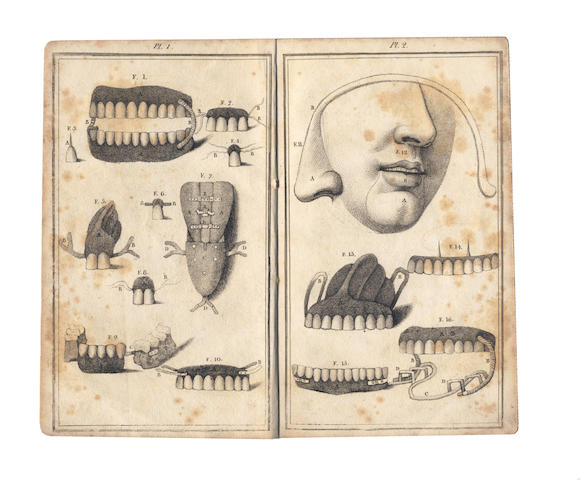 DENTISTRY. DUBOIS DE CHEMANT (NICOLAS) A Dissertation Artificial Teeth in General. Exposing the Defects and Injurious Consequences of all Teeth made of Animal Substances, 1797