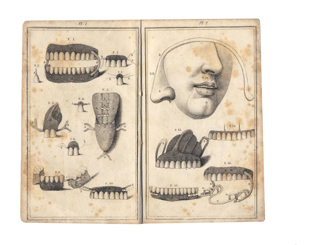 DENTISTRY DUBOIS DE CHEMANT (NICOLAS) A Dissertation Artificial Teeth in General. Exposing the Defects and Injurious Consequences of all Teeth made of Animal Substances, 1797