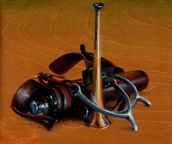 Henry Koehler (American, born 1927) Horn, flask and spurs