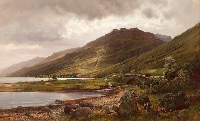 Sir James Lawton Wingate, RSA (British, 1846-1924) The Head of Loch Long