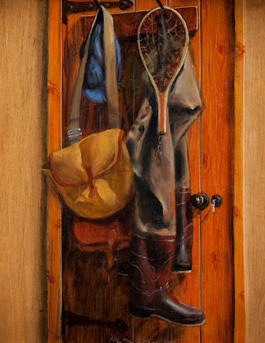 Henry Koehler (American, born 1927) Fisherman's door